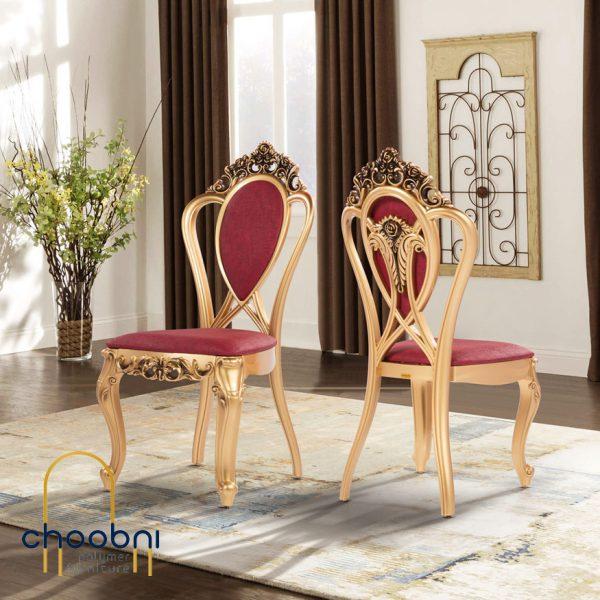 صندلی پلیمری مدل اعیان طلایی